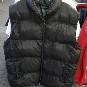 Southpole poof vest jacket size 2X black